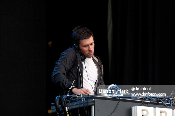 Danny Howard, One Big Weekend, 2013