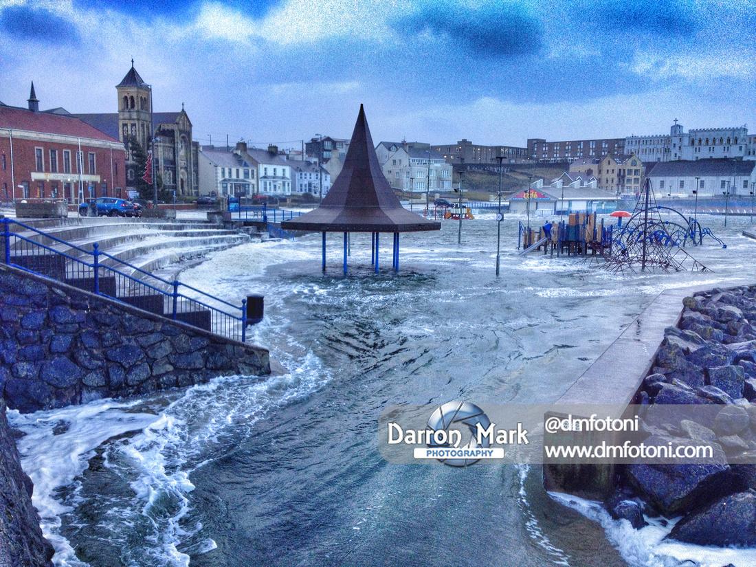 Portstewart Weather Bomb