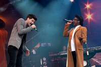 Labrinth joins The Script - Big Weekend - 709
