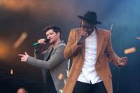 Labrinth joins The Script - Big Weekend - 711