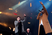 Labrinth joins The Script - Big Weekend - 712