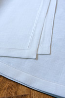 8-8 1 R-C Hem, White Tablecloth