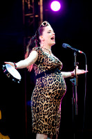 Imelda May sings at the Peace One Day concert, Derry