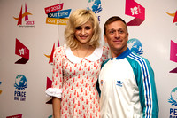 Pixie Lott with Jeremy Gilley