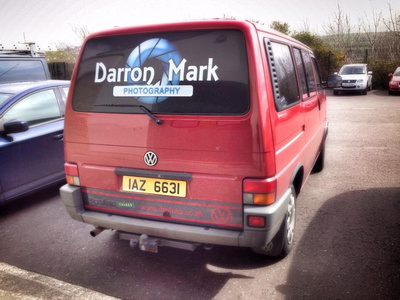 Darron Mark Photography Bus
