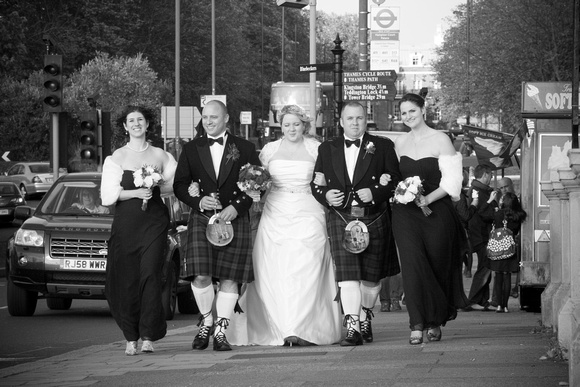 Wedding Bridal Party in London